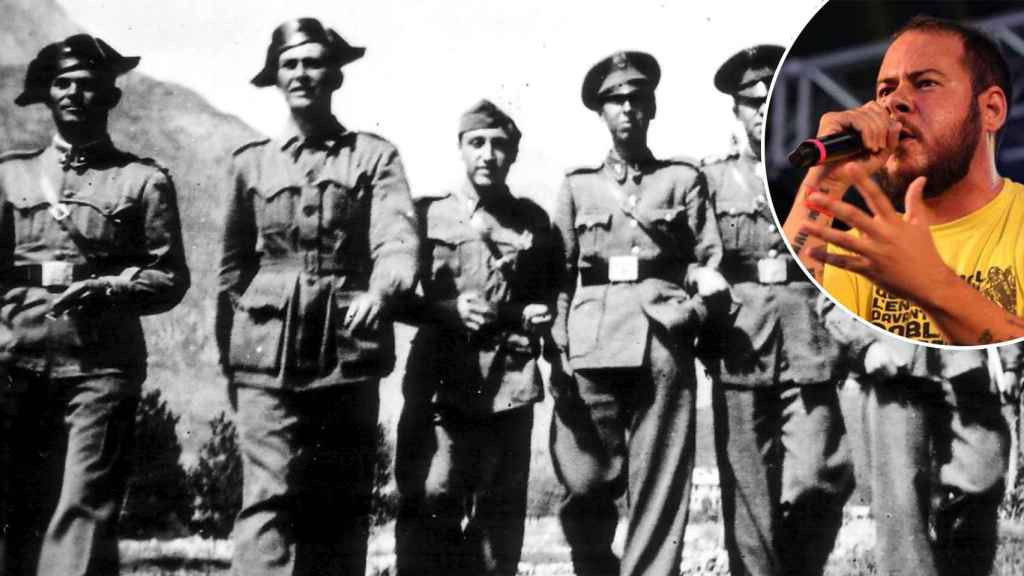 Familiares del teniente Rivadulla, abuelo de Hasél, defienden su memoria con su hoja de servicios