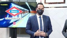 Ignacio Aguado anuncia el cambio de nombre de la estación de Metro de Atocha.