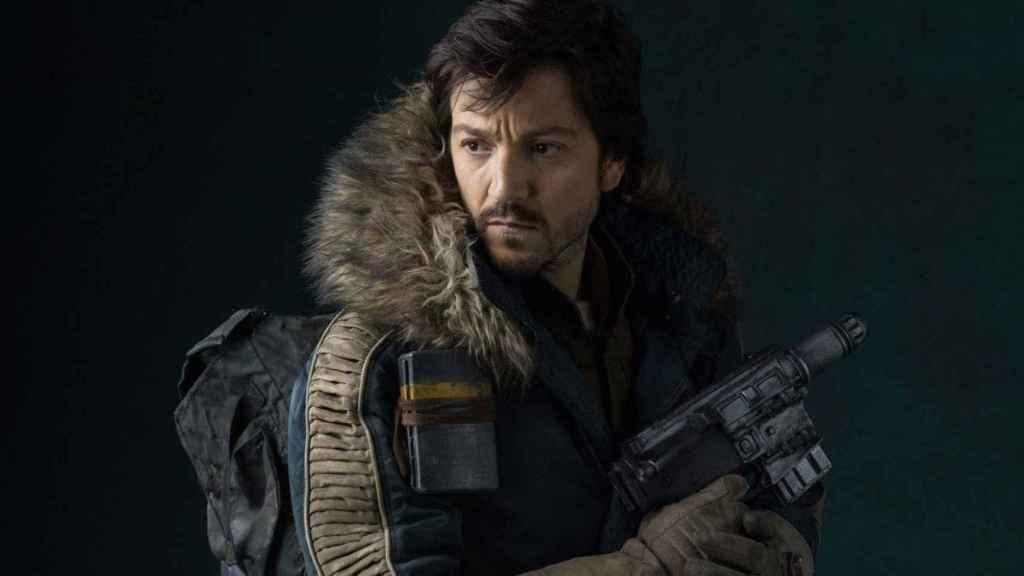 Diego Luna como Cassian Andor.