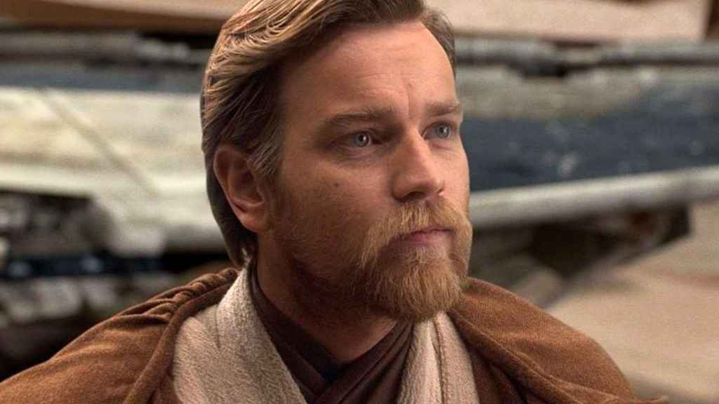 Ewan McGregor como Obi Wan Kenobi.
