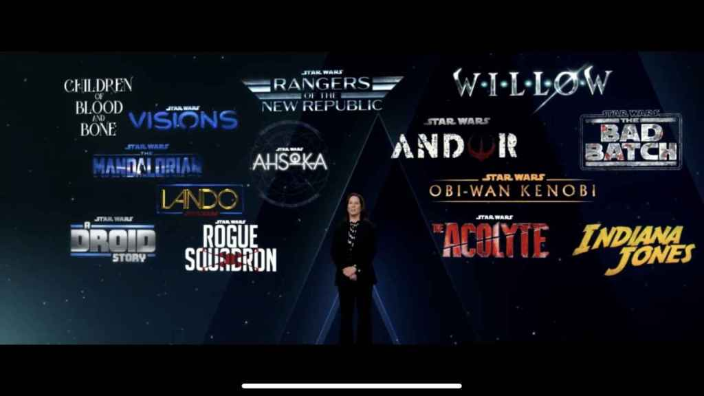 Todos los proyectos anunciados por Disney+.