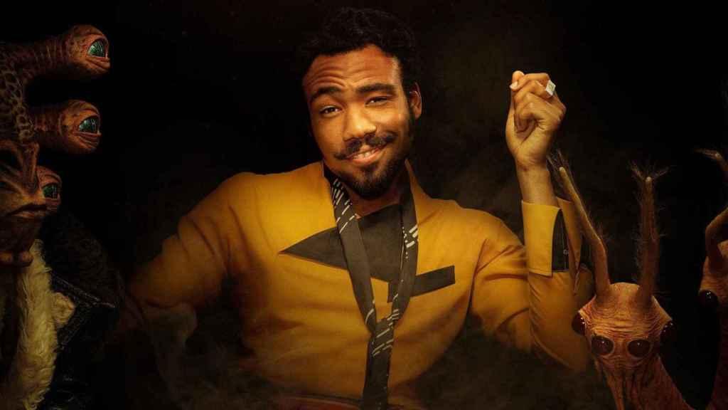 Donald Glover como Lando.