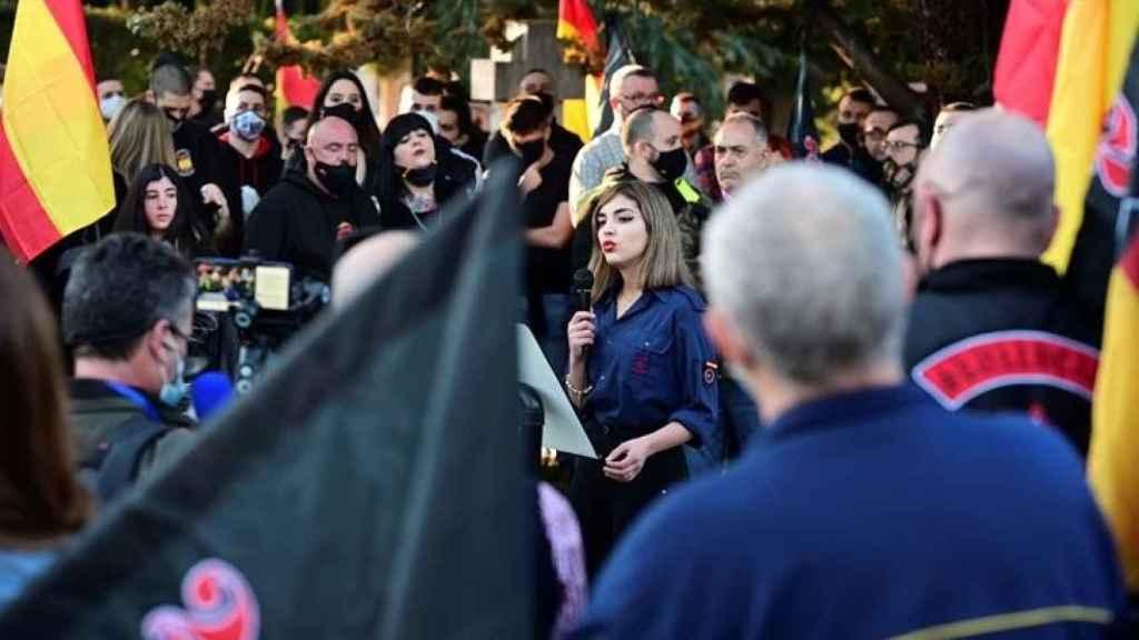 Isabel Medina, la hija de un exedil del PP de Seseña: El judío es el culpable