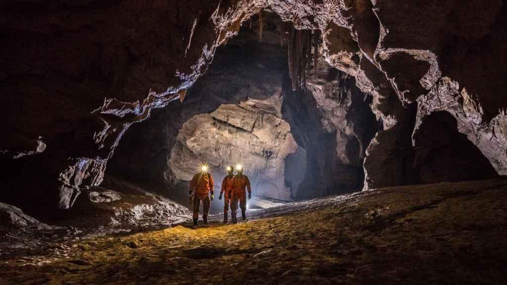 Entrenamiento en cueva