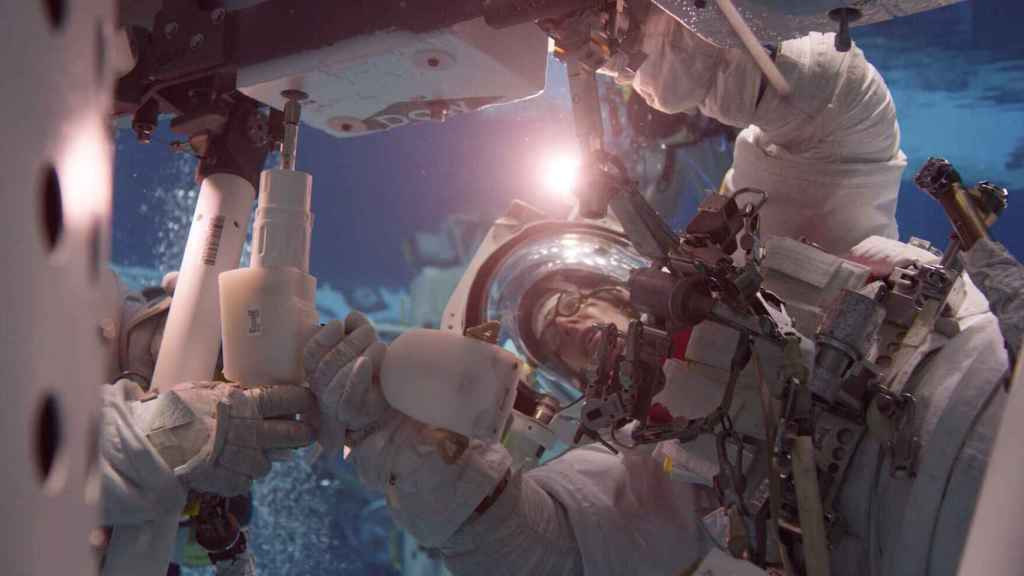 Entrenamiento de astronauta