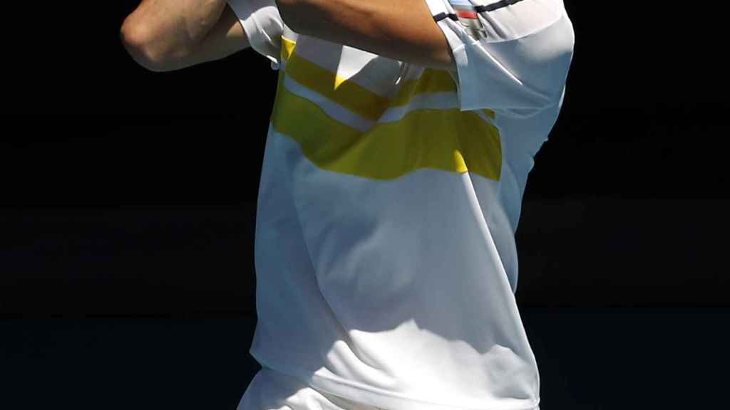 Daniil Medvedev, en el Open de Australia