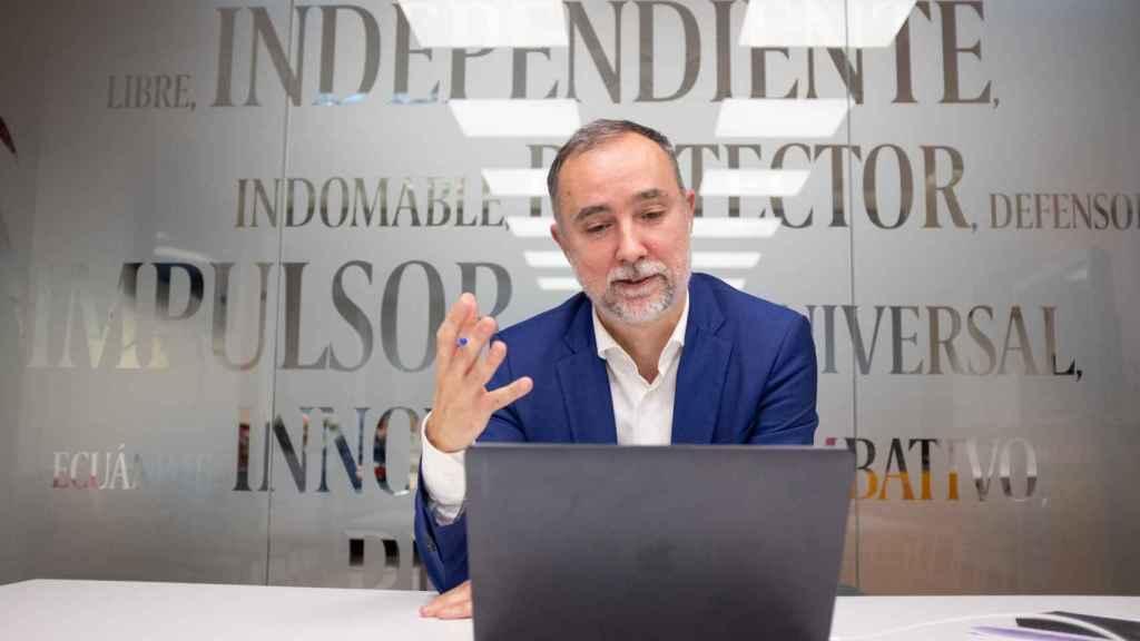 El periodista Cristian Campos.