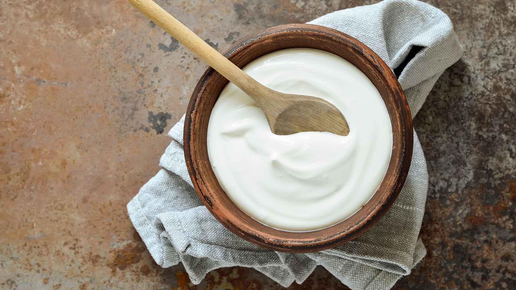El yogur griego