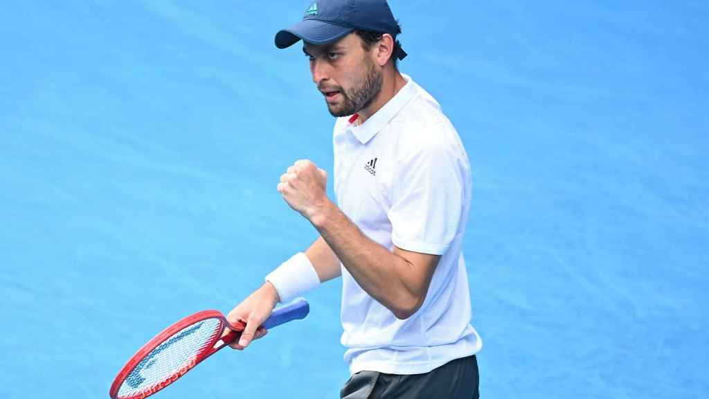 Karatsev, en el Open de Australia