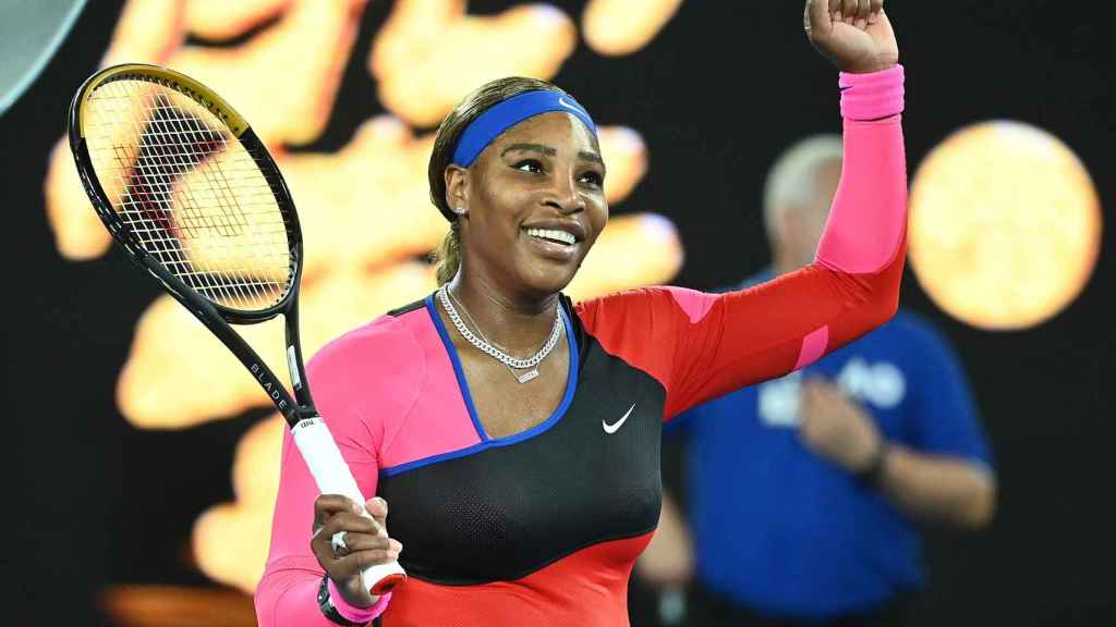 Serena Williams, en el Open de Australia