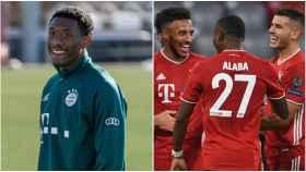 Alaba, con el Bayern Múnich