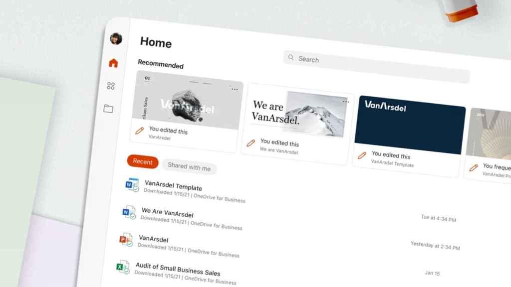 La app de Office une todas las apps de Microsoft