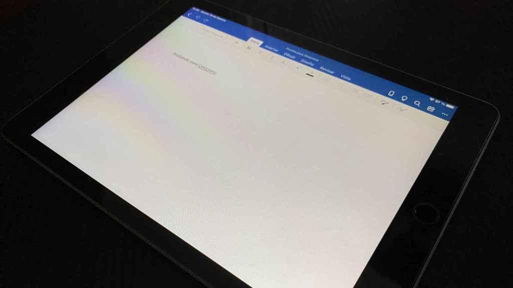 App de Office para iPad