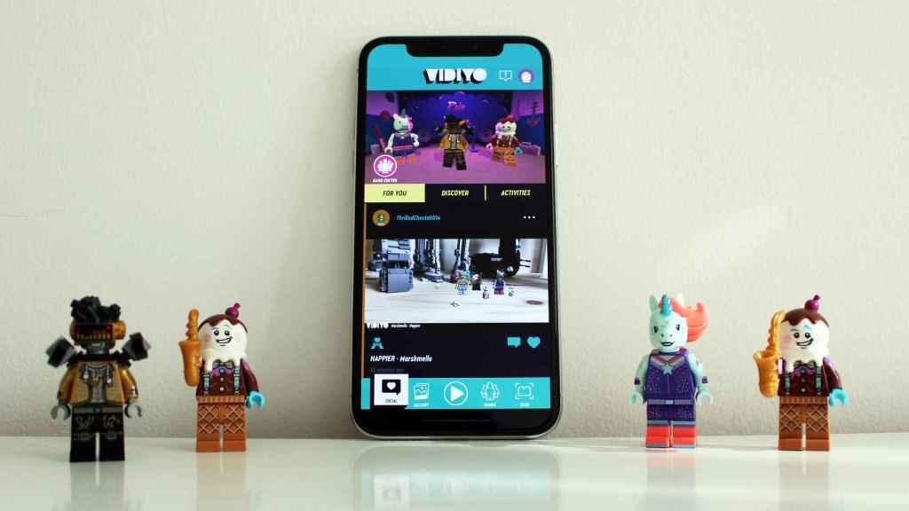 Vidiyo, la app de Lego.