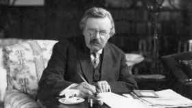 El escritor G. K. Chesterton.