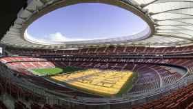 Estadio Wanda Metropolitano.