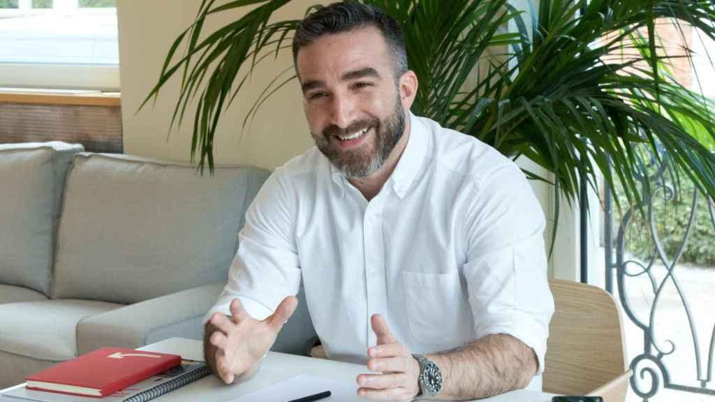 Francisco Polo, en un momento de la entrevista.