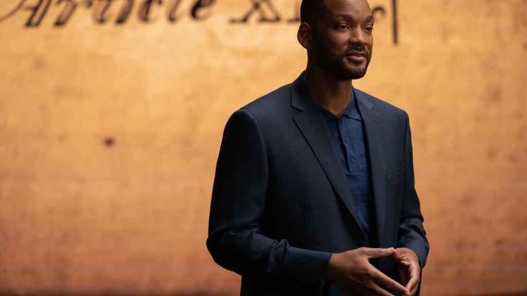 Will Smith en 'Estados Unidos: La lucha por la libertad'.