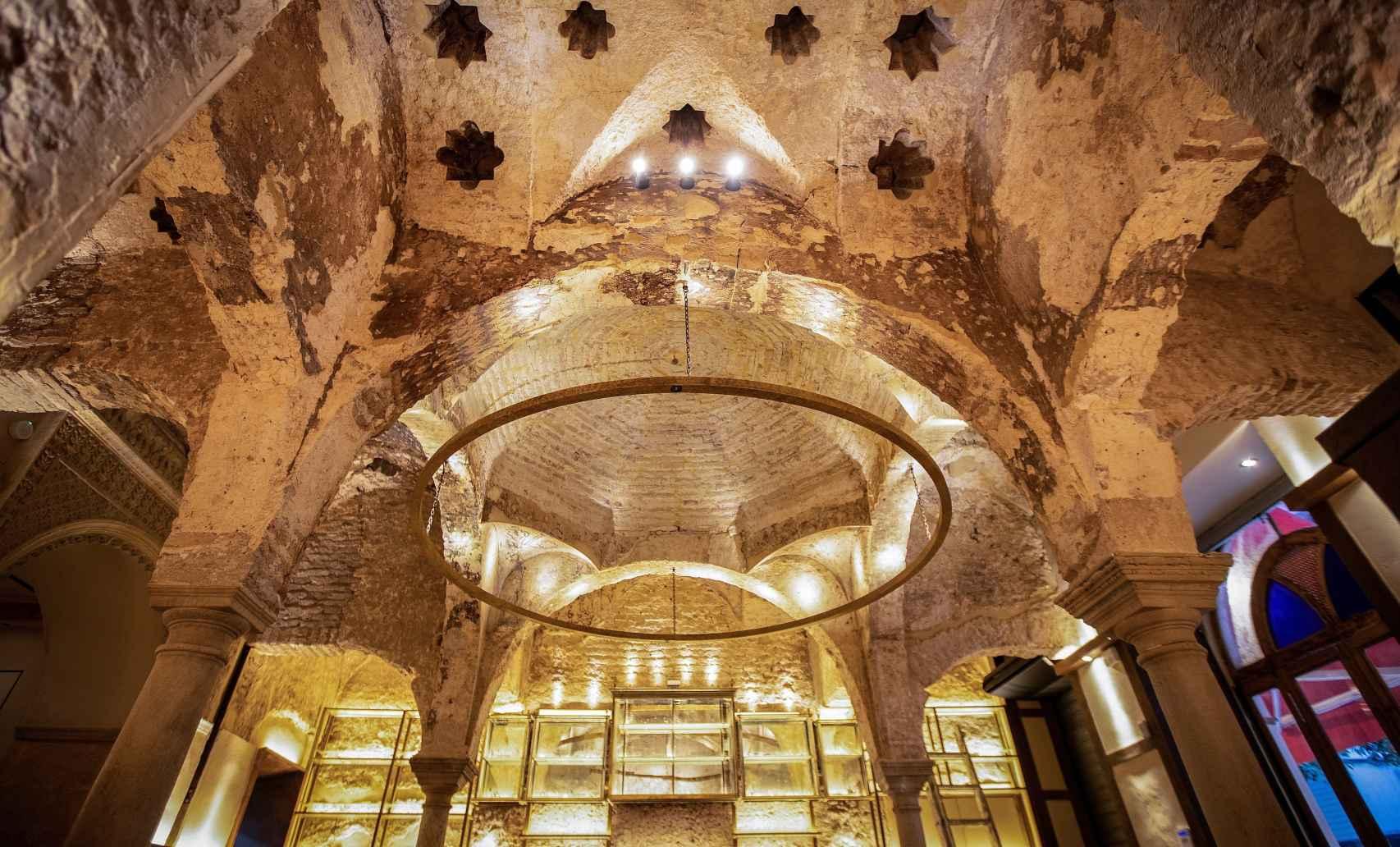 El baño islámico es del siglo XII.