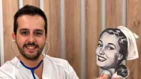 Héctor Castiñeira es 'Enfermera Saturada'