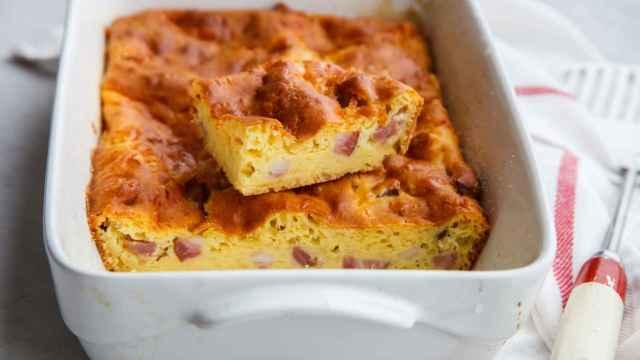 Cómo hacer tarta de jamón y queso casera