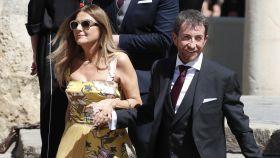 Pablo Motos junto a su mujer, Laura Llopis, en una imagen de archivo.