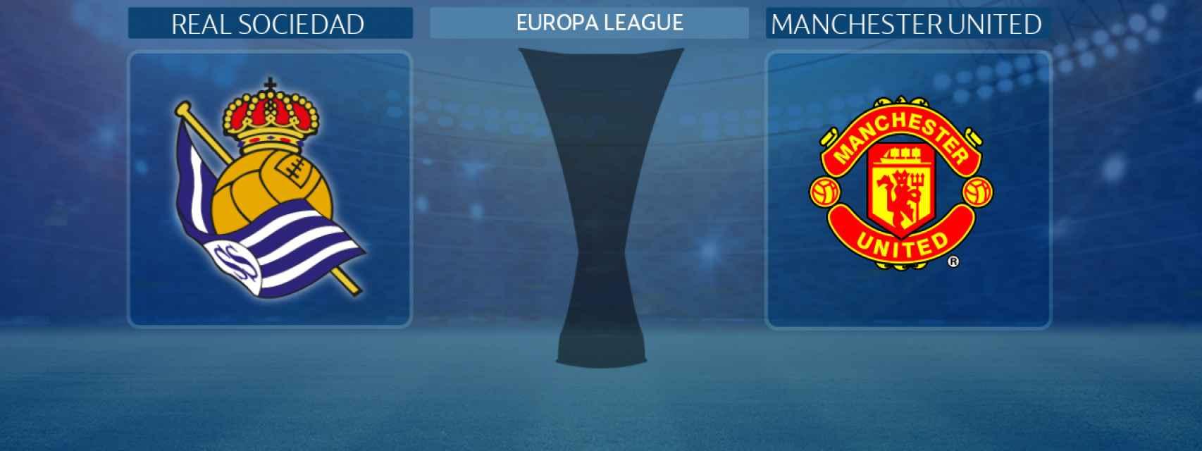 Real Sociedad - Manchester United, partido de laEuropa League