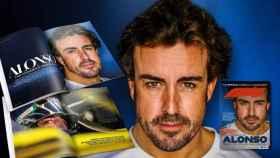 La portada de la revista oficial de la Fórmula 1 con Fernando Alonso