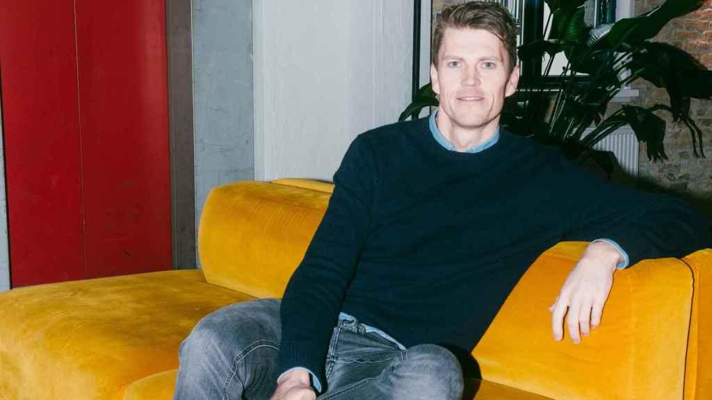 Jeppe Rindom, CEO de la fintech danesa Pleo.