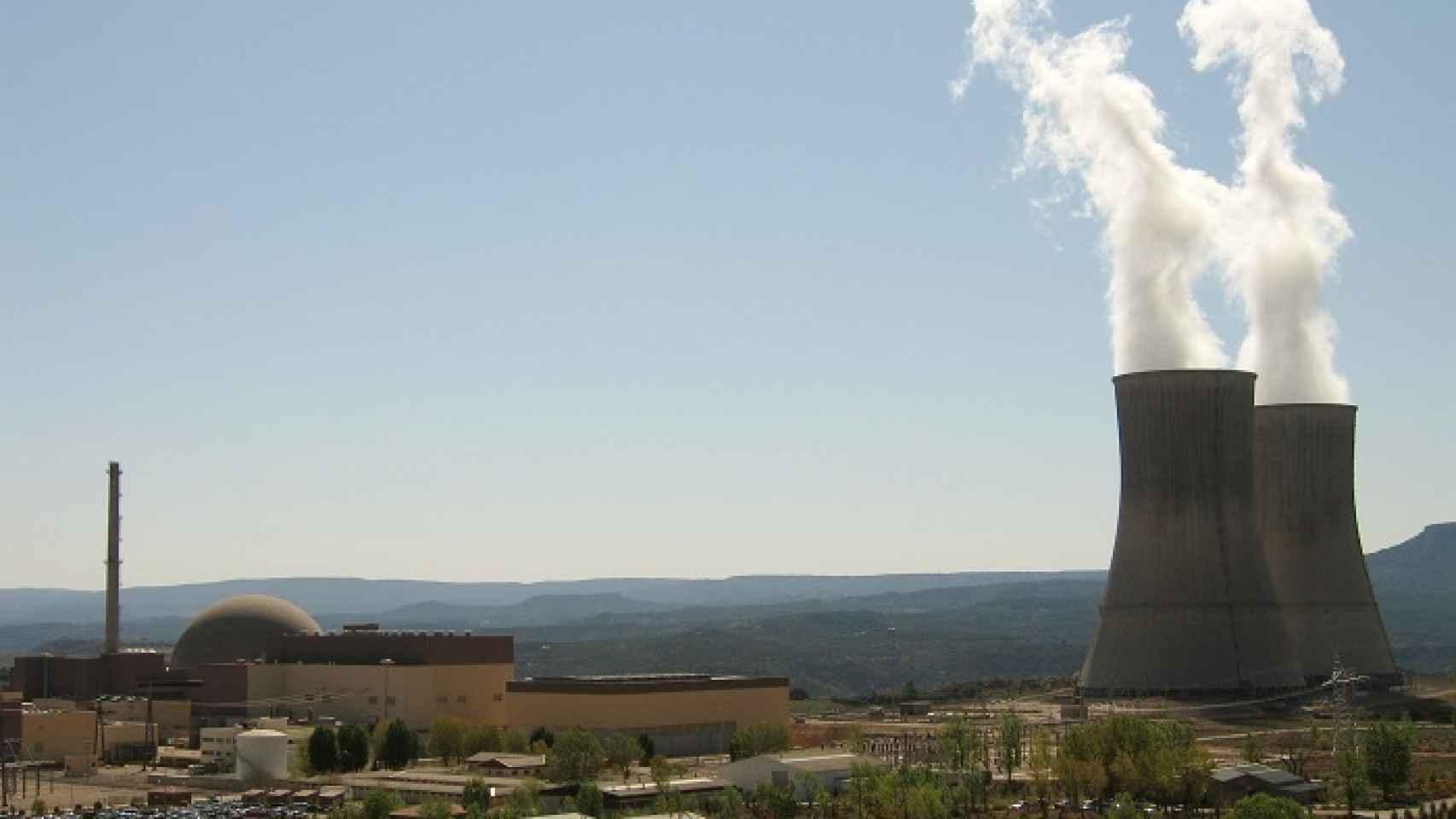 La central nuclear de Trillo (Gualajara), en una imagen de archivo.