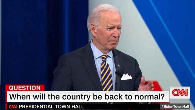 El presidente de Estados Unidos, Joe Biden, en una entrevista concedida a CNN.