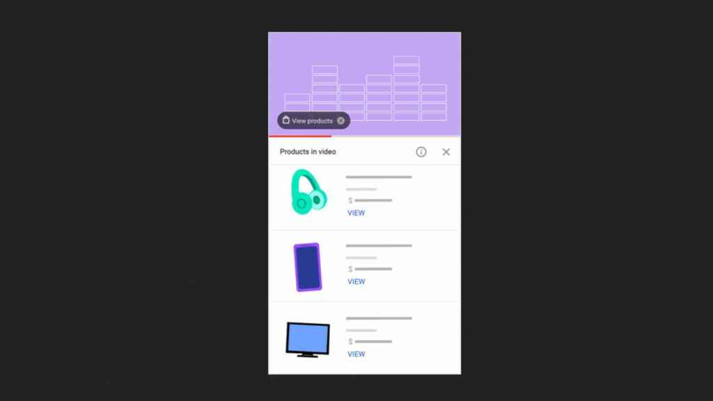 La nueva tienda integrada dentro de YouTube