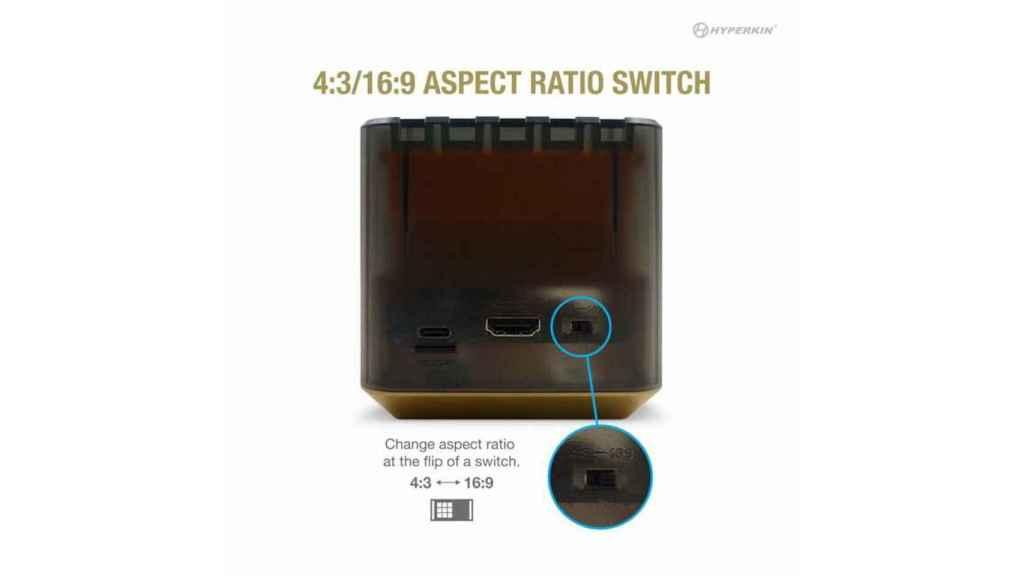 La RetroN Sq permite mejorar los juegos de Game Boy
