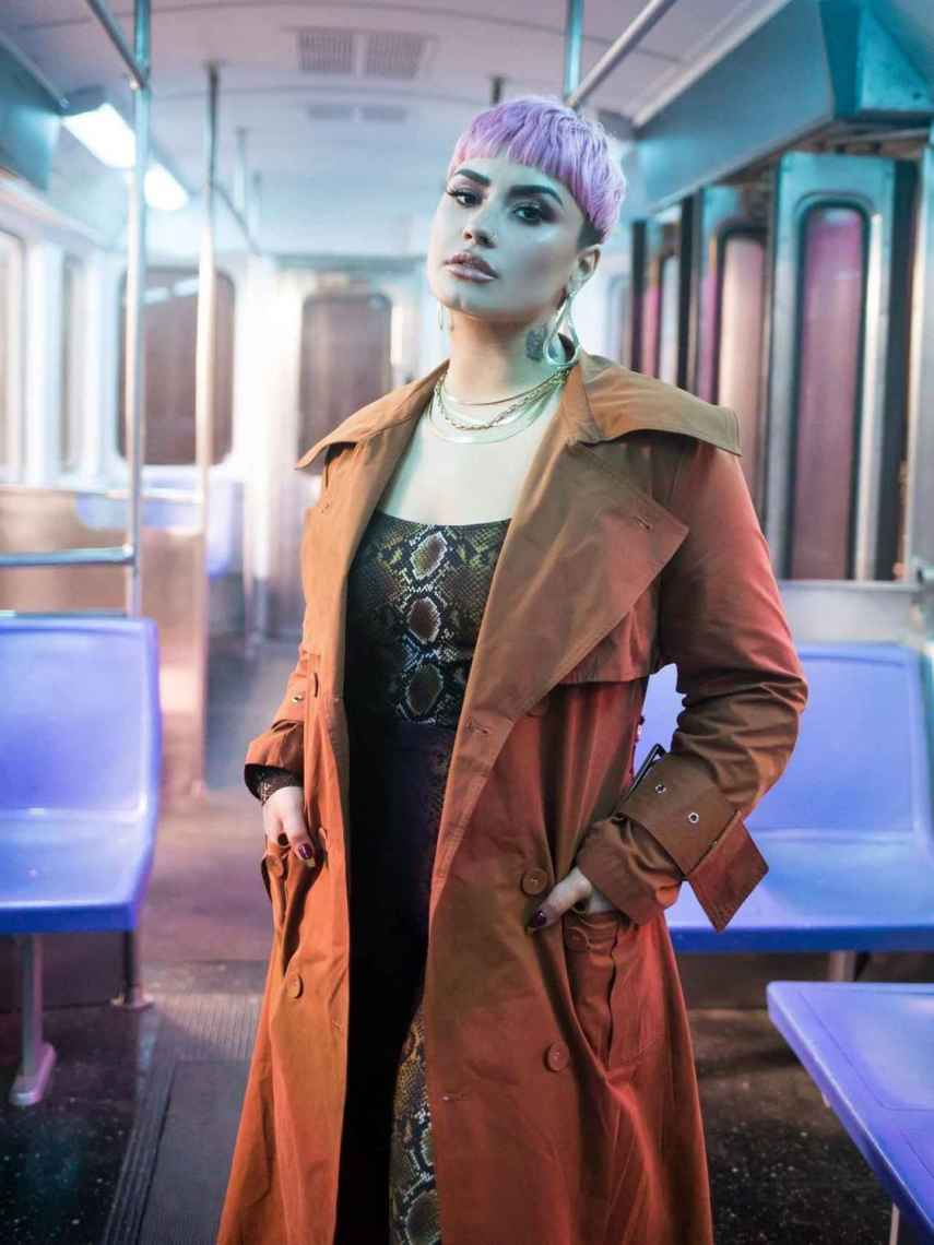 Demi Lovato ha sorprendido con un nuevo 'look' este 2021.