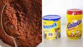 Cacao 100% puro vs. preparados comerciales