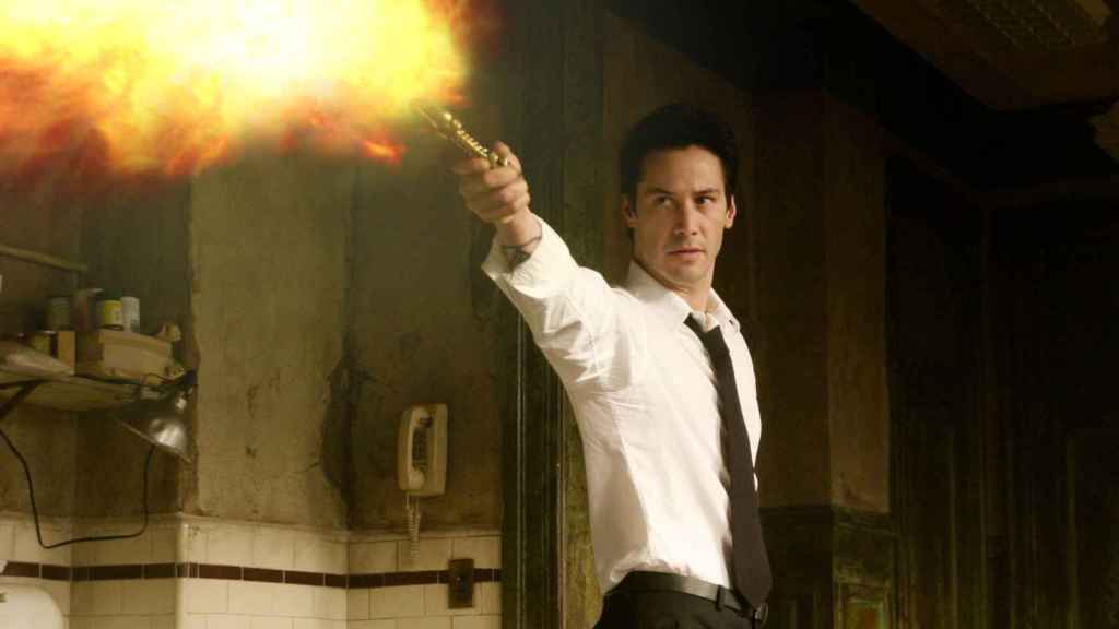 Keanu Reeves en la película sobre el personaje.