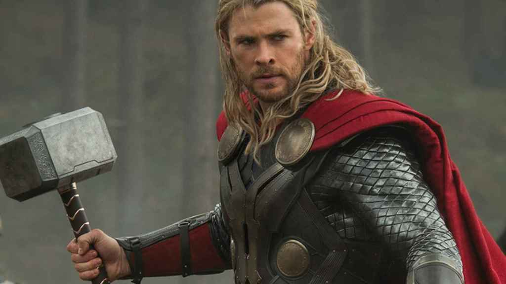 Hemsworth characterized as Thor in one of his films.