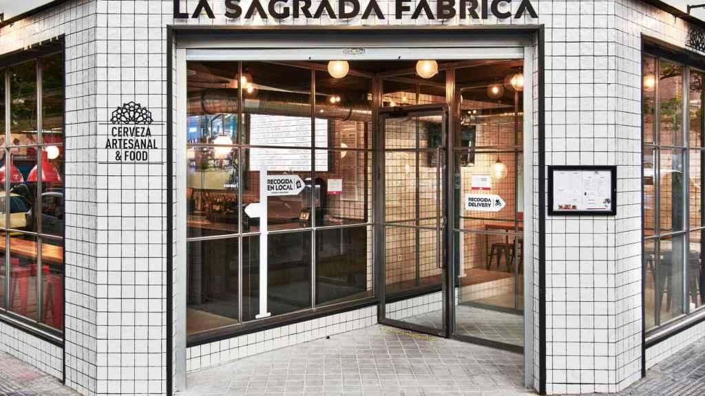 La Sagrada Fábrica en Ponzano (Madrid).