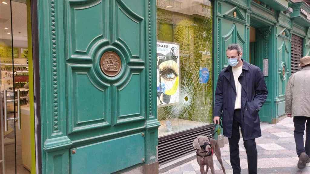 La tienda Yves Rocher de la calle Arenal.