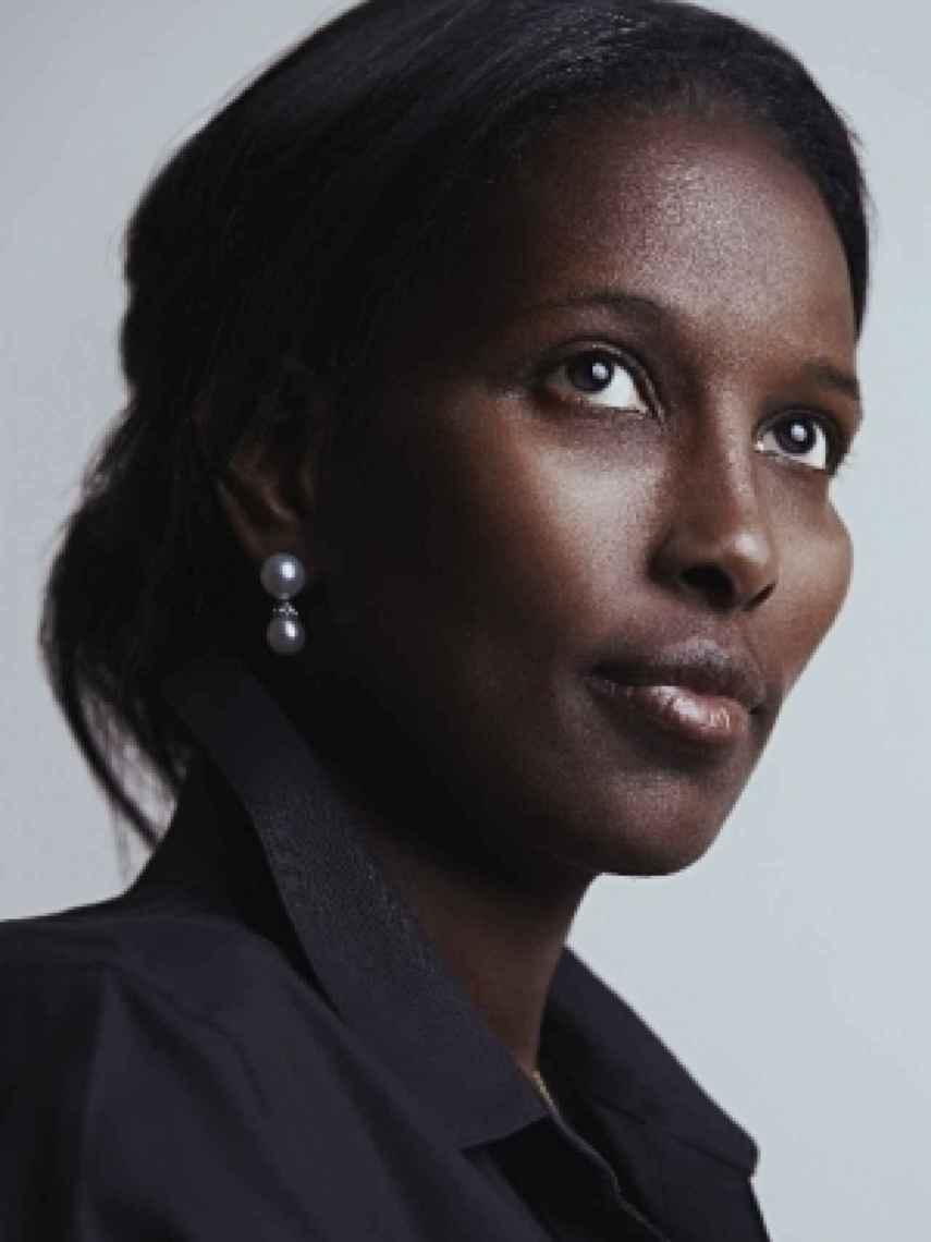 La activista somalí Ayaan Hirsi Ali.
