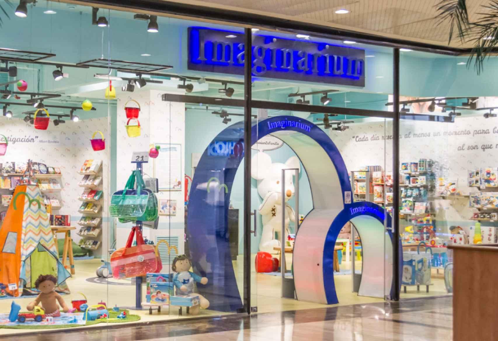 Una de las tiendas de Imaginarium.