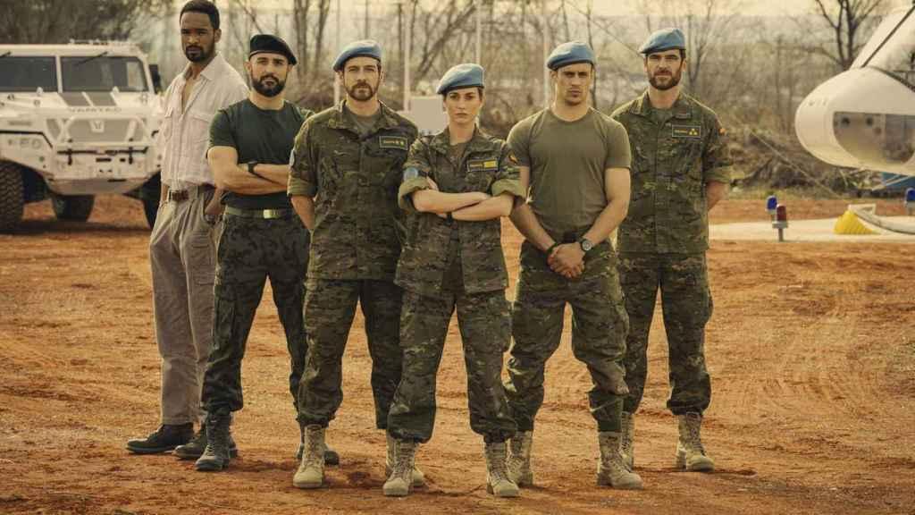 'Fuerza de Paz', la nueva serie de TVE con la creadora de 'Puente Viejo' y la productora de 'Patria'