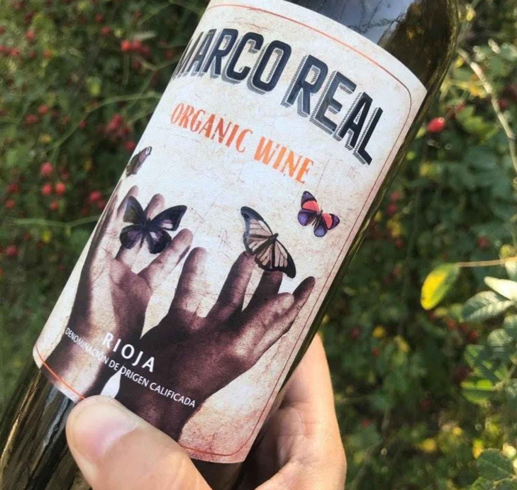 Marco Real Organic Wine.