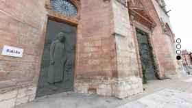 Recreación de las nuevas puertas de Antonio López en la catedral de Burgos.