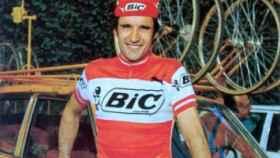 Luis Balagué en su etapa en el equipo Bic