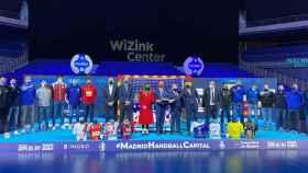 La presentación de la Copa del Rey de balonmano en el WiZink Center