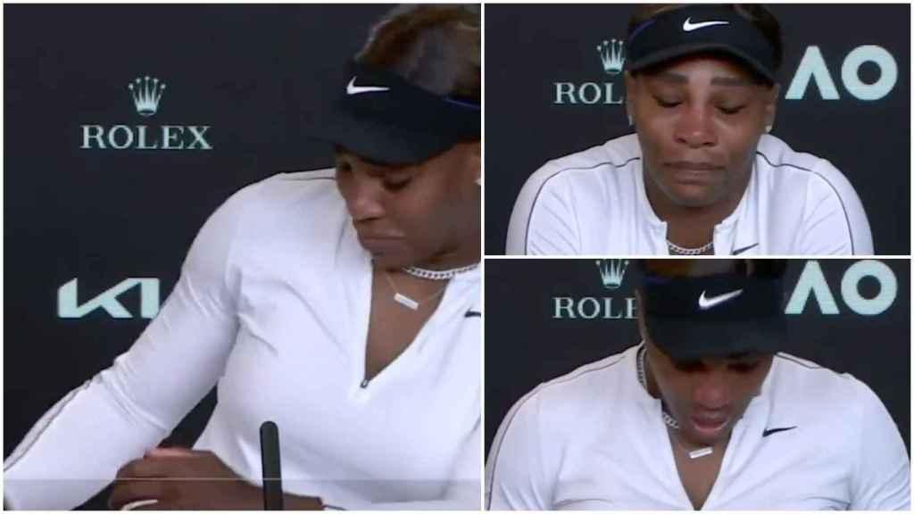 Las lágrimas de Serena Williams