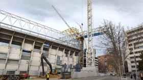 Revolución en las obras del Nuevo Santiago Bernabéu tras su última jornada