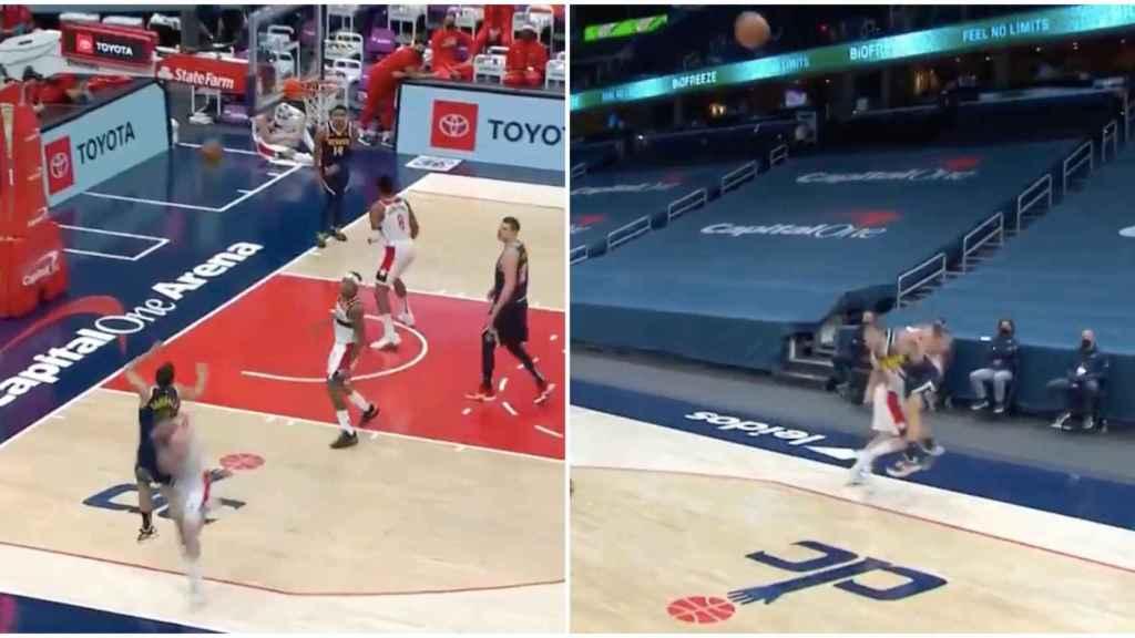 Campazzo protagoniza la jugada del año en la NBA