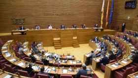 Pleno de Les Corts Valencianes. EE